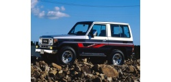 Toyota Land Cruiser среднеразмерный внедорожник 1984-2007