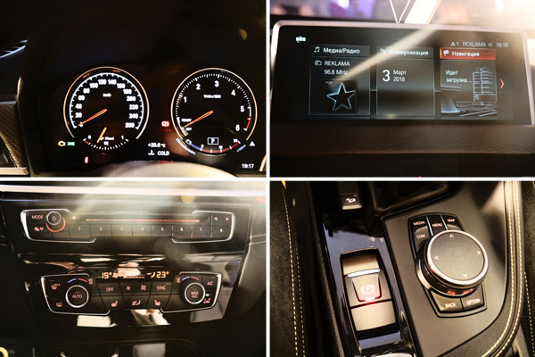Интерьер и салон BMW X2